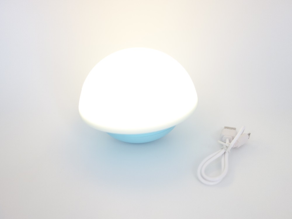 Color Chaning RGB Mushroom Led Night Light for Home
