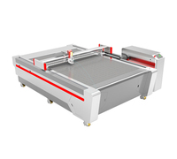 digital printer with cutter carton cnc oscillating paper cutting machine