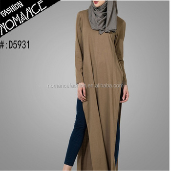 b17f96421b47c Muslim Women High Slit Semi Formal Dress Maxi - Buy High Slit ...