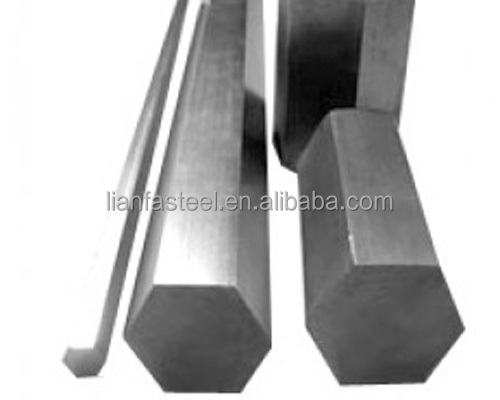Cold drawn/hot rolled hexagonal steel tube /hexagonal bar/hex bar