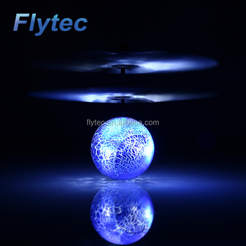 Wholesale Flytec TY935 Build in Blue Led Lighting Infrared Sensor RC Flying Ball Hand Induced RC Drone Helicopter Ball