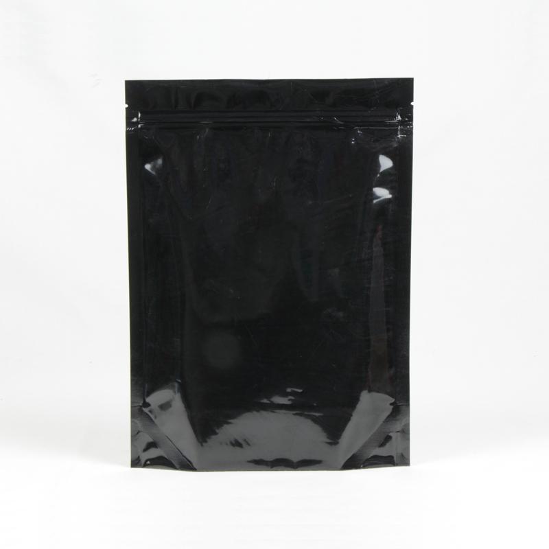 カスタマイズされた黒真空密封されたジッパーバッグ卸売