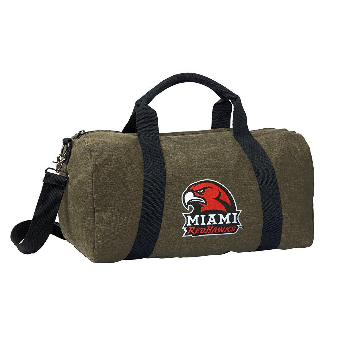 Miami University Duffle Bag or CANVAS Miami RedHawks Gym Bags