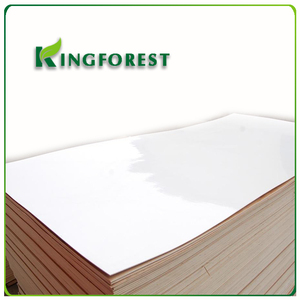 best price polyester coated plywood/mdf/block board