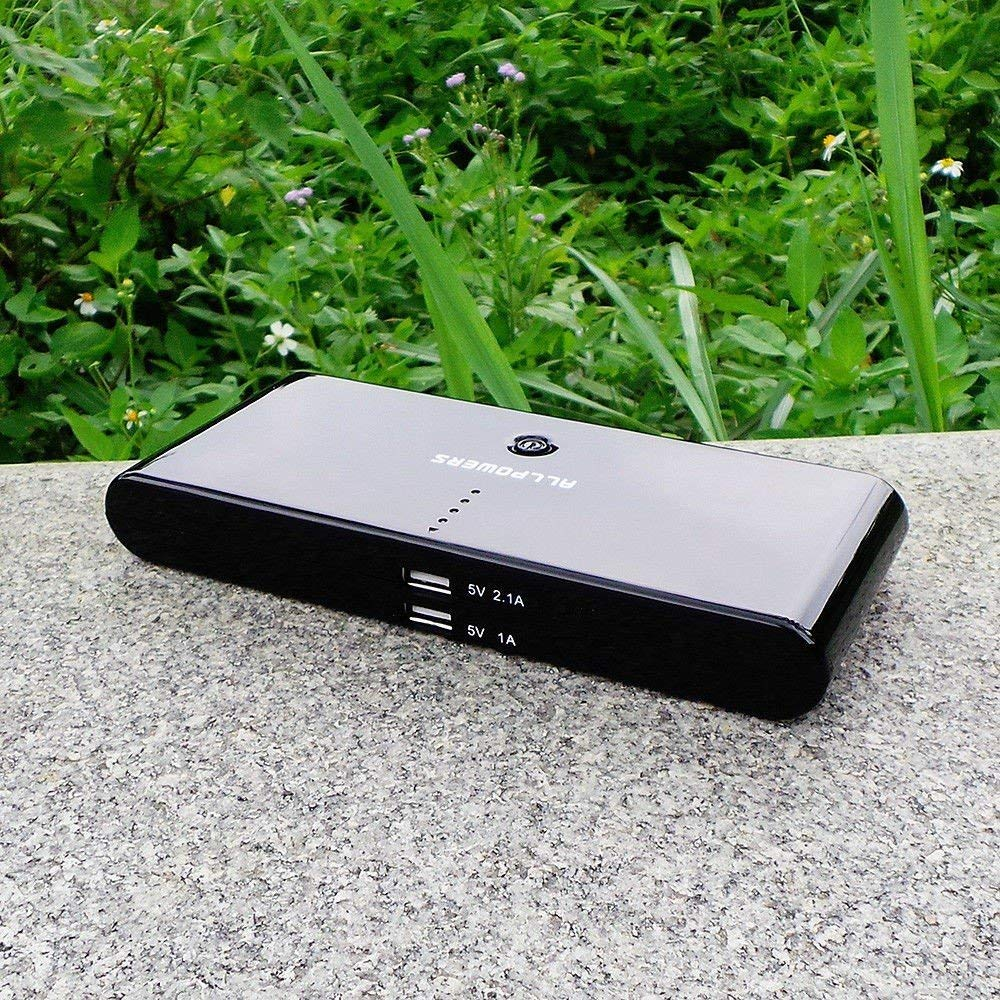 Li-Polymer Portable Power Pack - 50000mAh, 2 USB Port, Allpowers