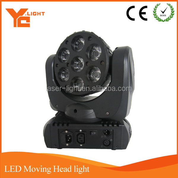 New 7 pieces 10W led moving head disco lights for sale