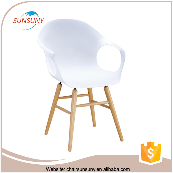 Good design home&garden furniture fashion popular Top quality modern Dining Side Wood Leg Chair