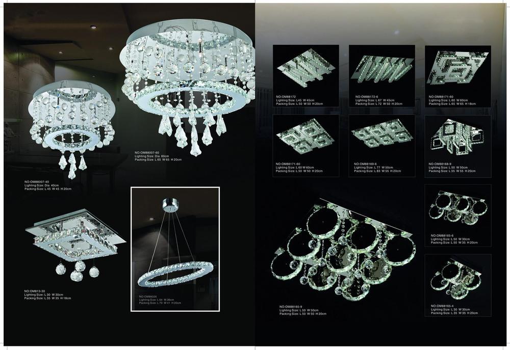 Plafoniere Da Soffitto In Cristallo : Rotonda animata plafoniera lampada da soffitto di cristallo