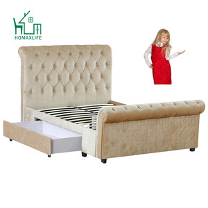 Free Sample Big Lots Cherry Full Sleigh Bed On Sale
