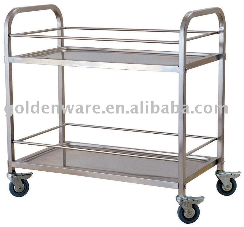 Stainless Steel Hotel Trolley Cart