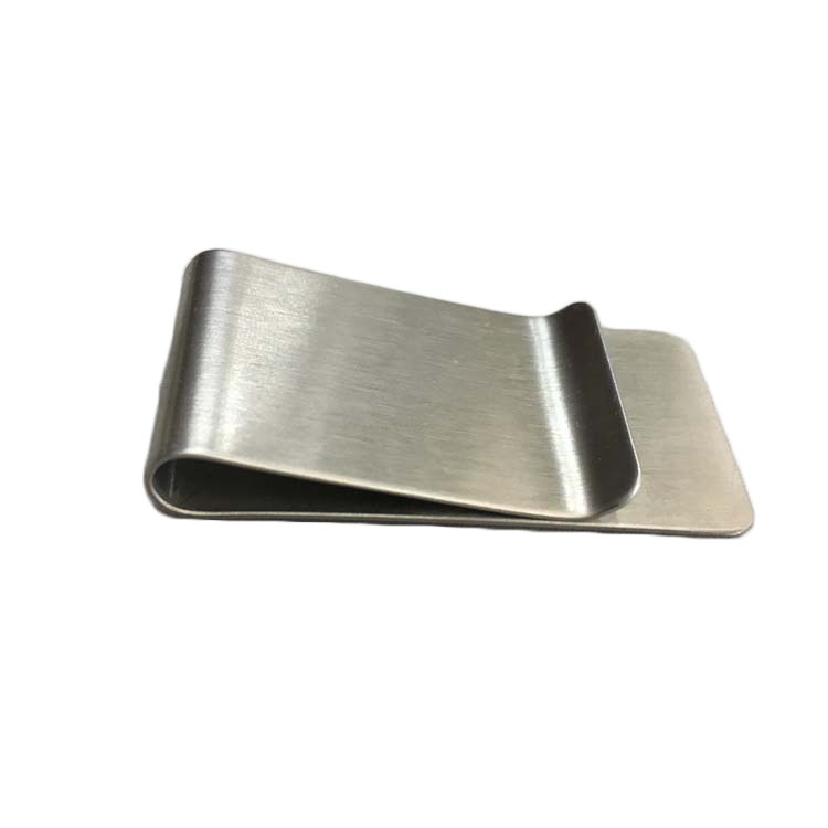 Wholesale Custom Stainless Steel Brass Metal Blank Money Clip Hardware