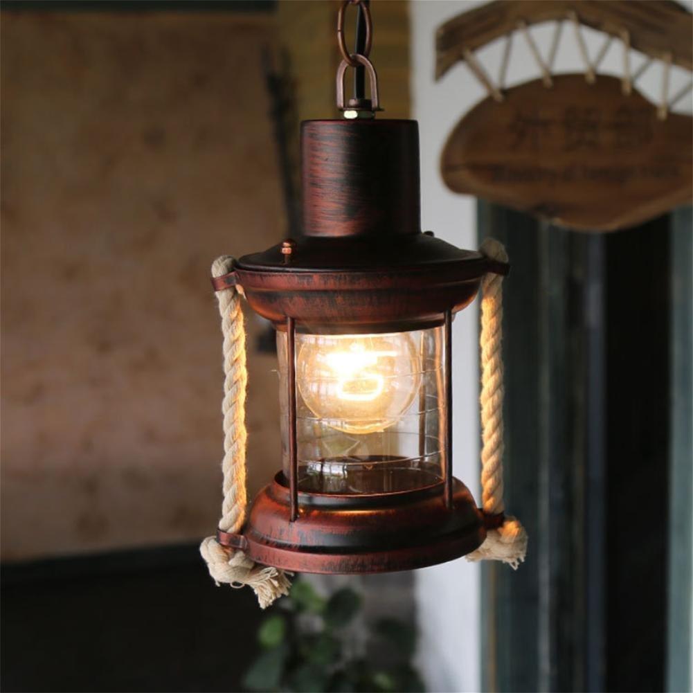GAO LGDT Retro nostalgic chandeliers, loft chandeliers, iron chandeliers chandeliers 21CM 90CM