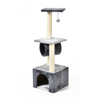 Speedypet New Design Sisal Material Fun Cat Multifunctional Cat Tree Tower House/Large Cat Tree Condo