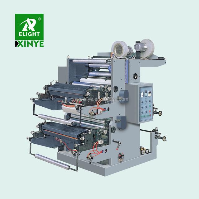 China Professional Automatic 2 Colour Offset Printing Press Machine Set Price