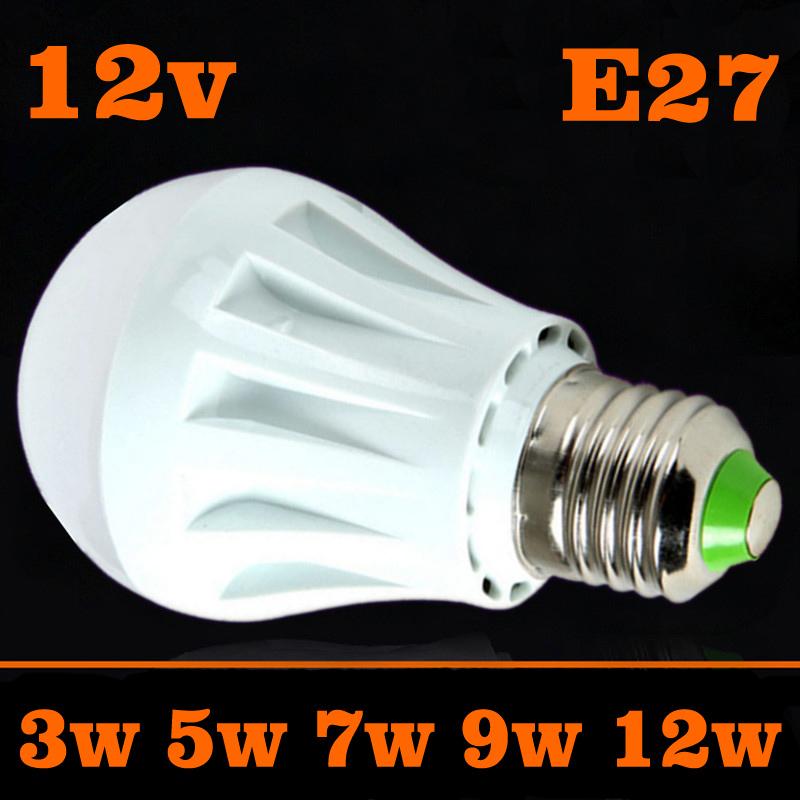led bulbs 3w 5w 7w 9w 12w dc 12v e27 12 volt led jogo de luz wat lamp lps for sale energy saving. Black Bedroom Furniture Sets. Home Design Ideas