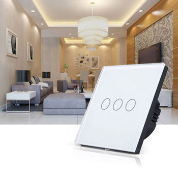 Zigbee smart home 1/2/3 gang wall switches wifi electric touch switch for lighting