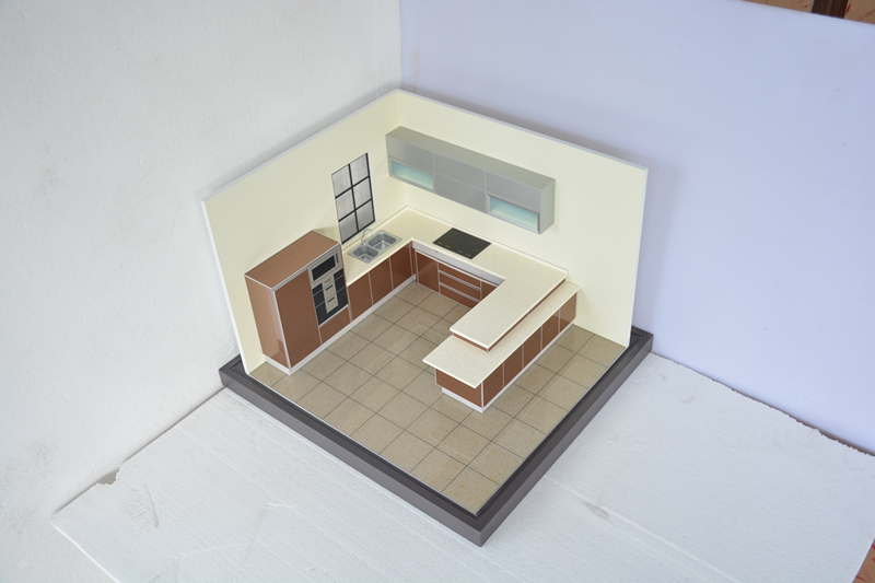 2015 kitchen model making scale model buildings making 3d for 3d house model maker