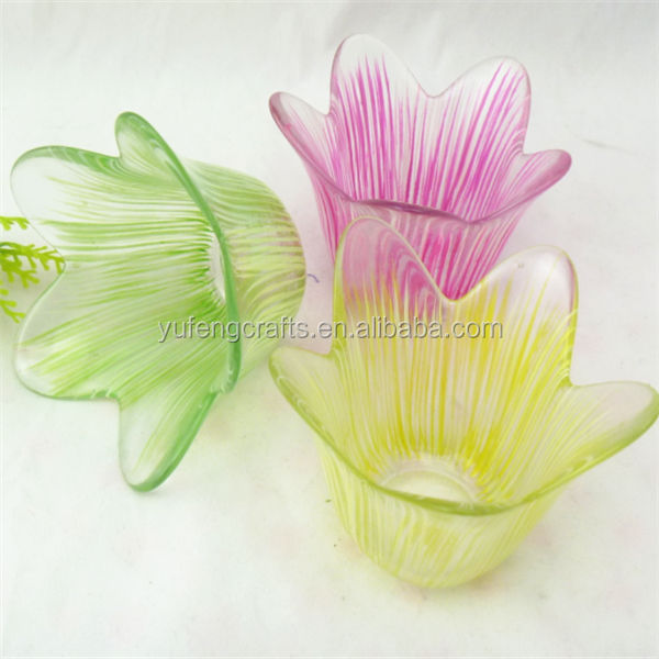 capiz lotus candle holder