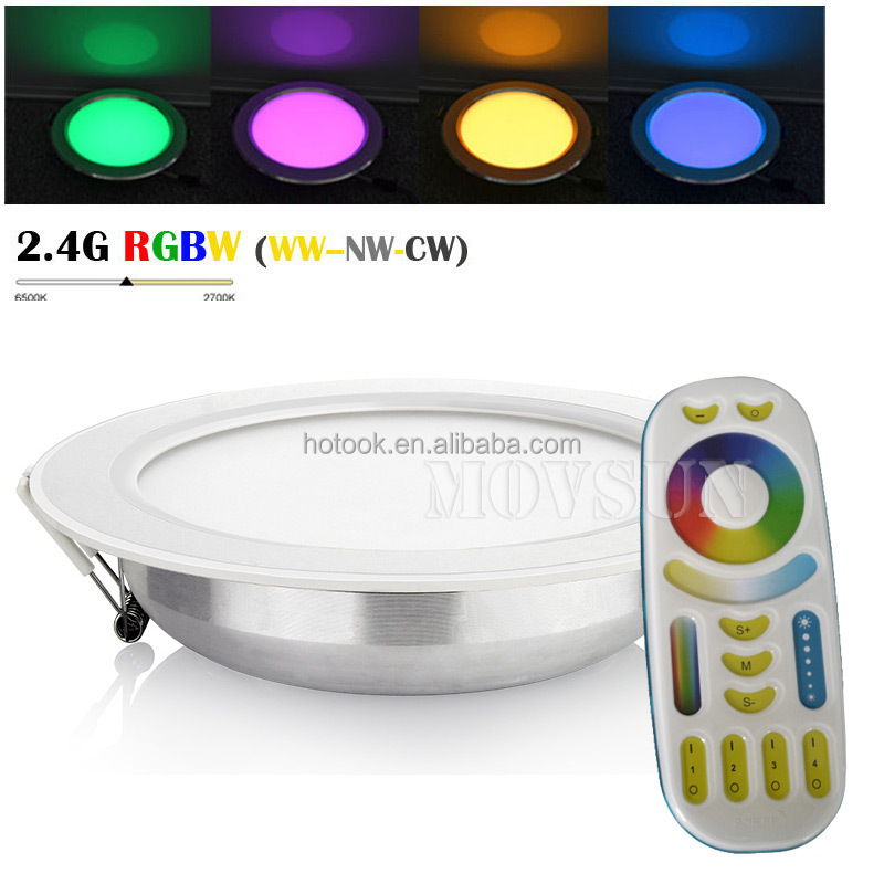 2.4G Wireless 4-zone Remote and Smartphone APP Wifi Control Mi.light 6W 12W LED <strong>Downlight</strong>