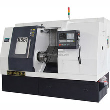 CNC turning center cnc slant bed lathe machine with hollow chuck SL40