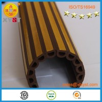 Hot selling adhesive backed sponge soft foam rubber rubber seals strip for wood frames door from China