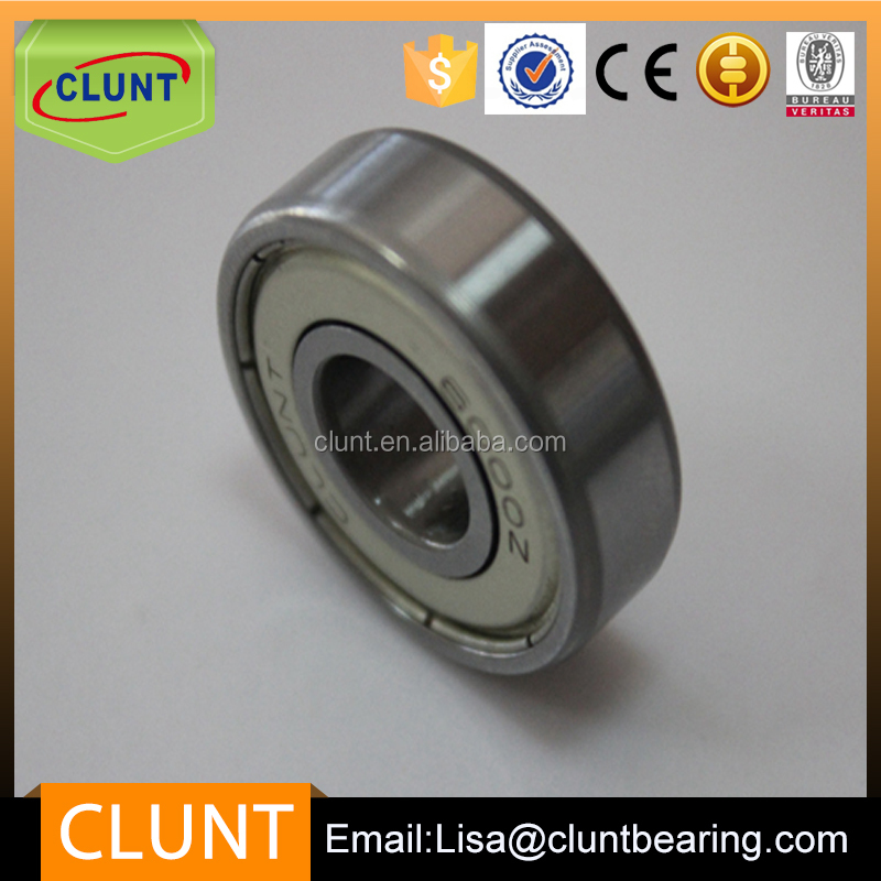 High precision deep grove ball bearing accessory 6302