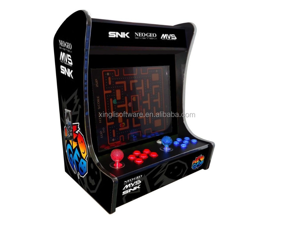 19 inch LCD (Horizontal) Cocktail Machine With game elf 621 games/mini bartop arcade machine