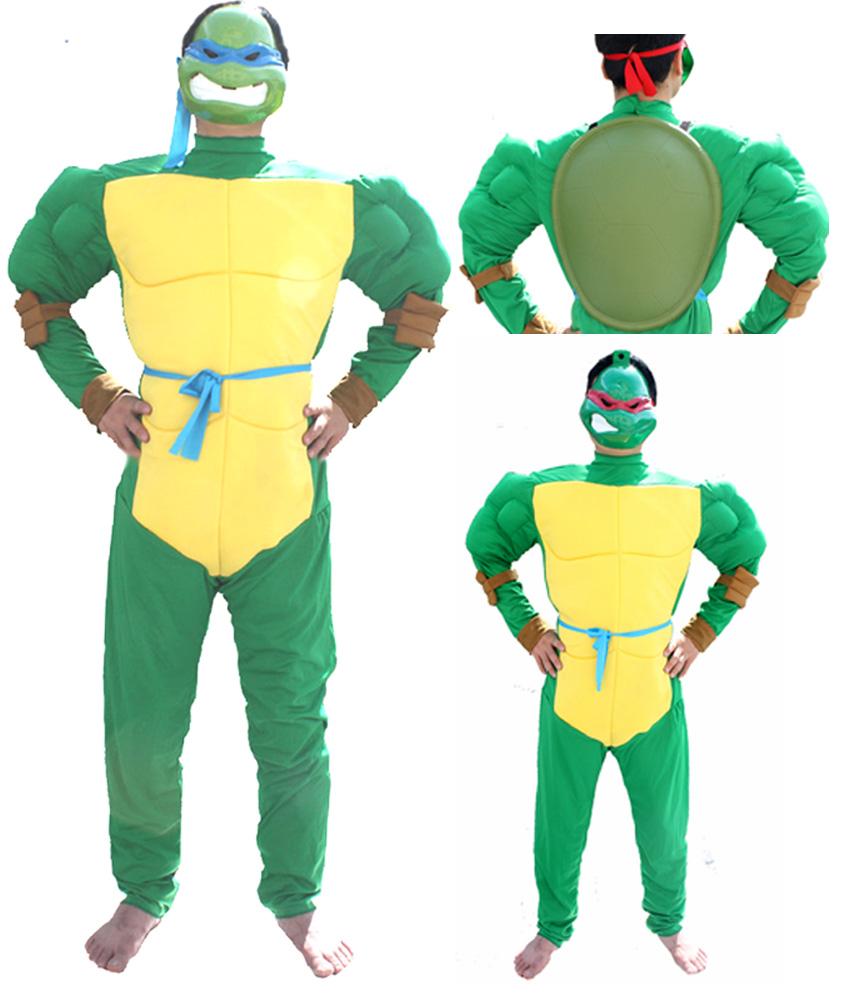 buy teenage mutant ninja turtles clothing set for adult, halloween