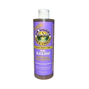 Dr. Woods - Shea Vision Castile Soap With Organic Shea Butter Pure Black Soap - 16 oz. ( Multi-Pack) by DR. WOODS