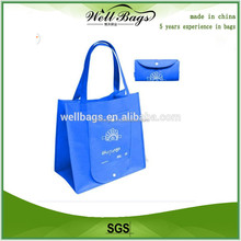 promotional cheap grocery foldable travel bag , shopping tote bag