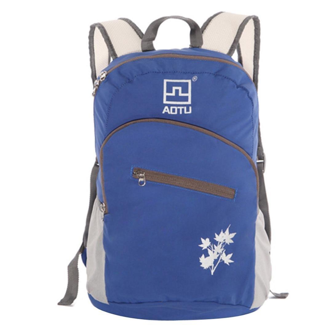 Iuhan® Fashion Aotu Outdoor Mountaineering Bag Waterproof Nylon Travel Bag Backpack