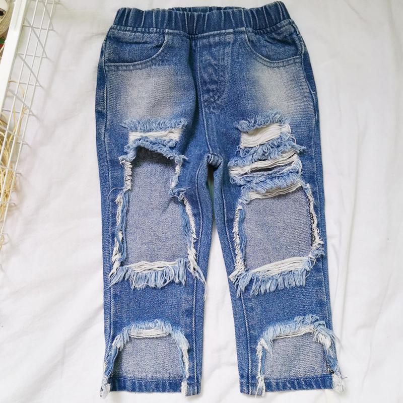 Pantalones Vaqueros Rasgados Con Agujeros Para Ninos Y Ninas Para Primavera Y Otono Buy Pantalones Vaqueros Para Ninos Vaqueros Para Ninas Vaqueros Para Ninas Product On Alibaba Com