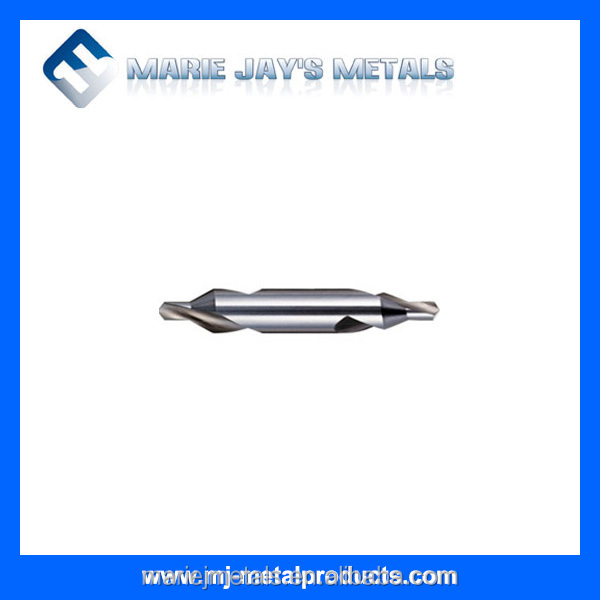 Tungsten carbide center drill bits for hole <strong>drilling</strong>