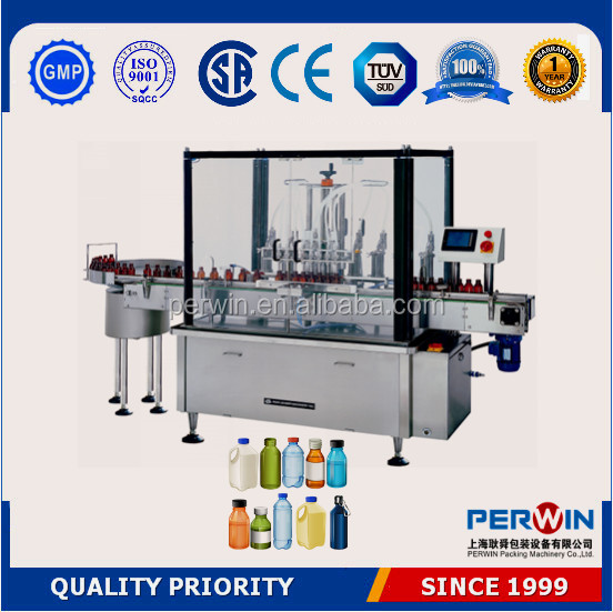 Full automatic mouthwash capping filling machine price