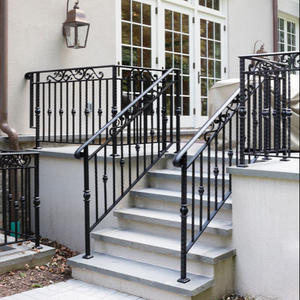 Wrought Iron Stair Railing Supplieranufacturers At Alibaba