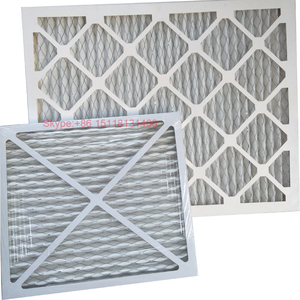 Merv8 Cardboard pleat filter Panel Filter G3 G4 Pre Air Filter