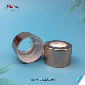 factory customized cheap price 28/410 rose gold aluminum aroma essential oil screw diffuser cap