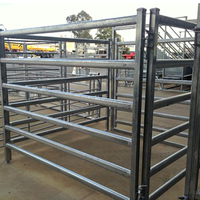 Professional factory livestock corral yard galvanized metal dog run fence panel