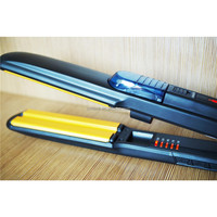 LED indicate adjustable temperature 230 degree steam hair straightener