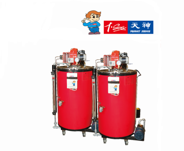 Vertical Industrial Oil Gas fired Automatic Oil fired Steam Boiler 500kg/h