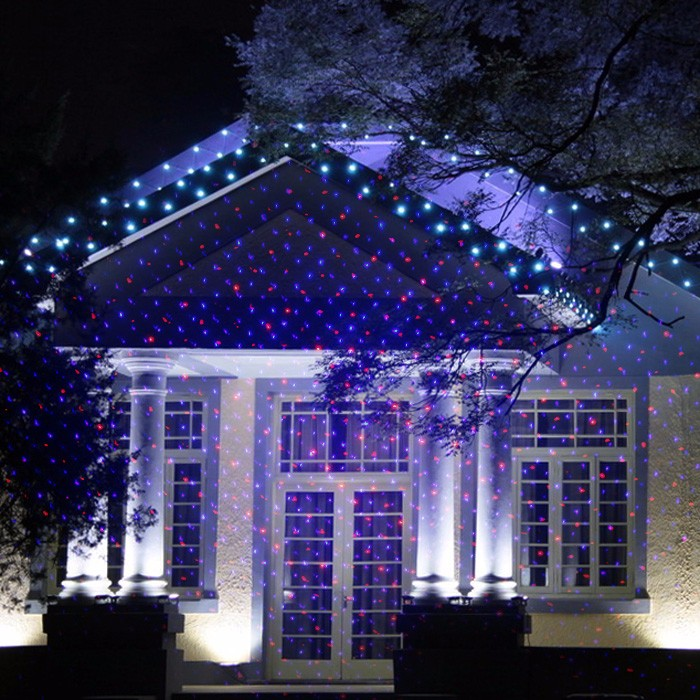 Outside Wall Waterproof Light For Christmas Laser Light Show ...