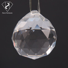 Beautiful crystal glass ball, crystal ball for wedding decoration gifts Christmas ornament
