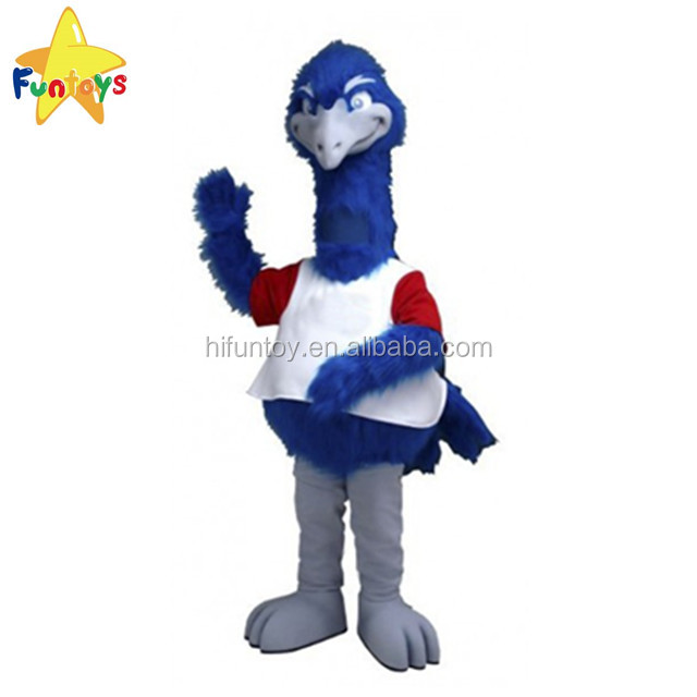 Funtoys CE Customized Big Tall Ostrich Bird Mascot Costume