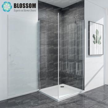 Hangzhou Hinge Pivot Square 180 Swing Door Shower Wall Fixed Side Wall  Bathroom Nano Frameless Glass Shower Enclosure   Buy Shower Enclosure,Glass  ...