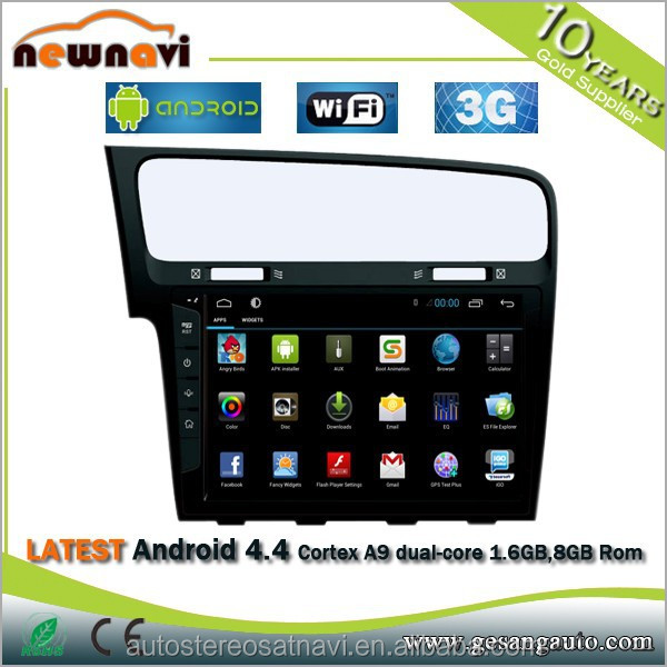 2015 New! 10.1 inch 2 din Pure Android 4.2 car dvd player PC Headrest Car Radio Gps with wifi+3G+BT+TV Tuner DVR