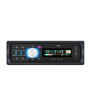 Portable Fixed Panel Stereo Digital Media4 Channel High Power Output Multi-function Hands-free Calls 12V Car Aux MP3 Player