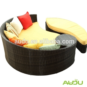 Audu Hot Sale Rattan Outdoor Barcelona Daybed