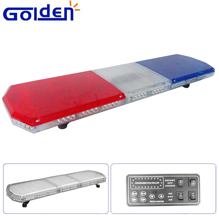 Red blue car roof top emergency flashing warning led full size flashing led full size used police light bars for sale mozeypictures Gallery