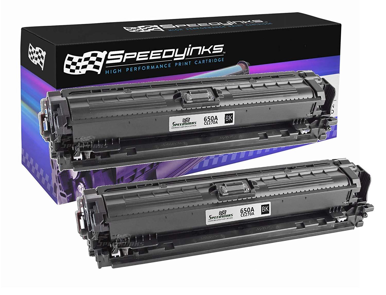 1Pack Compatible CE270A Toner Cartridge for HP Color LaserJet Enterprise CP5520