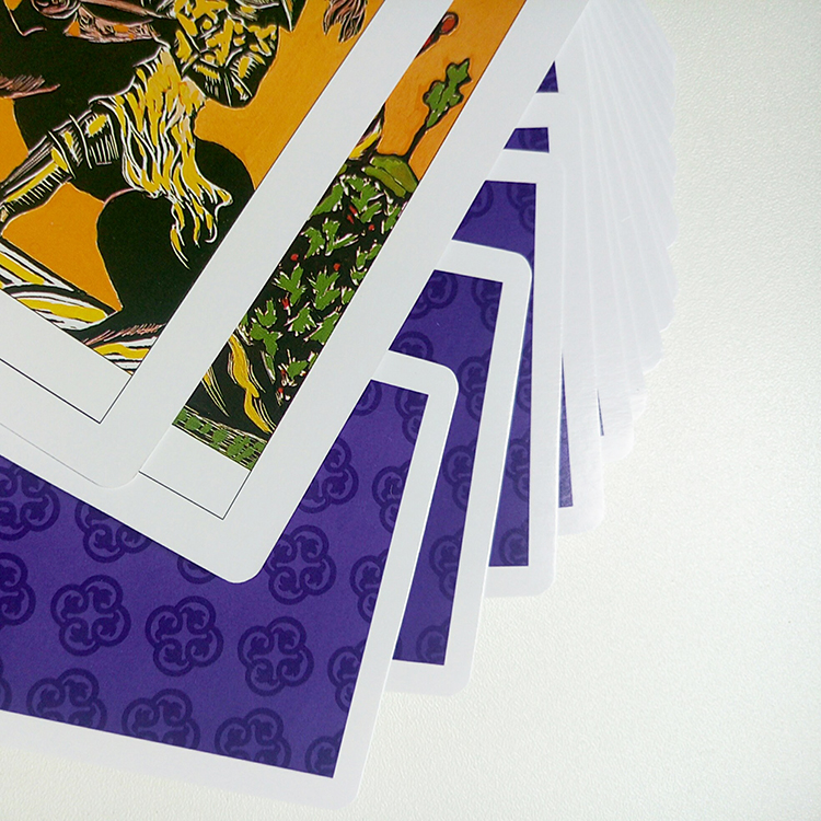 Volume-produce Shrink Wrapped Top Quality Printing Tarot